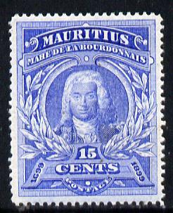 Mauritius 1899 Admiral Labourdonnais unmounted mint, SG 136