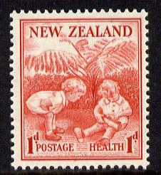 New Zealand 1938 Health - Children 1d+1d unmounted mint SG 610*