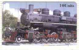 Telephone Card - CTA Railways 10 Units 'phone card #05 showing 2-6-6-? Loco (Collectable Telecards of America)