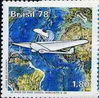Brazil 1978 Anniversary of South Atlantic Flight by del Prete & Ferrarin unmounted mint, SG 1717*