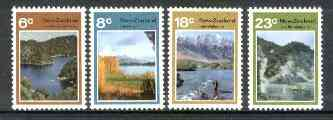 New Zealand 1972 Lake Scenes set of 4 unmounted mint, SG 993-96*