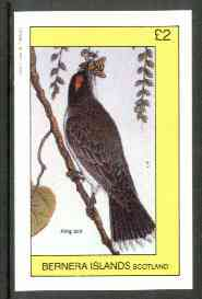 Bernera 1982 King Bird imperf deluxe sheet (�2 value) unmounted mint