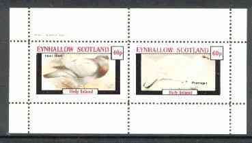 Eynhallow 1982 Birds #21 (Dove & Ptarmigan) perf  set of 2 values (40p & 60p) unmounted mint