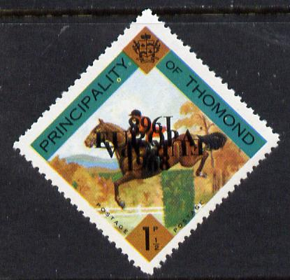 Thomond 1968 Show jumping 1.5d (Diamond-shaped) with