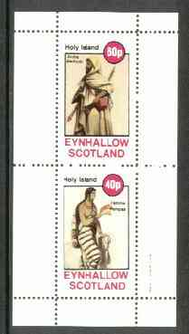 Eynhallow 1982 Costumes #01 (Arab Bedouin & Pampas Woman) perf set of 2 values unmounted mint