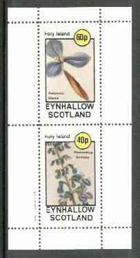 Eynhallow 1982 Flowers #20 (Patersonia & Plectranthus) perf set of 2 values unmounted mint