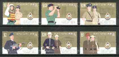 Hong Kong 1994 Royal Hong Kong Police Force unmounted mint set of 6, SG 772-77*