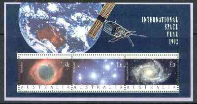 Australia 1992 International Space Year m/sheet unmounted mint, SG MS 1346