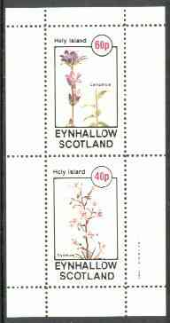 Eynhallow 1982 Flowers #26 (Campanula & Stylidium) perf set of 2 values unmounted mint