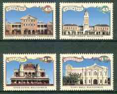 Australia 1992 Discovery of Gold set of 4 unmounted mint, SG 1377-80, stamps on , stamps on  stamps on gold, stamps on  stamps on mining, stamps on  stamps on postal, stamps on  stamps on justice