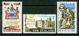 New Zealand 1969 Centenary of NZ Law Society set of 3 unmounted mint, SG 894-96*
