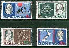 New Zealand 1969 Bicentenary of Captain Cook's Landing set of 4 unmounted mint, SG 906-909