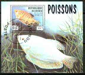 Benin 1999 Fish m/sheet fine cto used