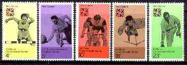 New Zealand 1974 10th Commonwealth Games set of 5 unmounted mint, SG 1041-45*