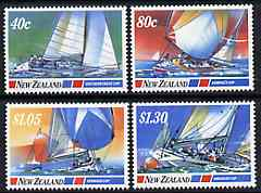 New Zealand 1987 Yachting Events set of 4 unmounted mint, SG 1417-20