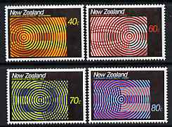 New Zealand 1988 Centenary of Electricity set of 4 unmounted mint, SG 1444-47*