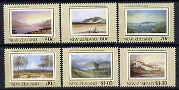 New Zealand 1988 NZ Heritage - 1st issue - The Land perf set of 6 unmounted mint, SG 1484-9