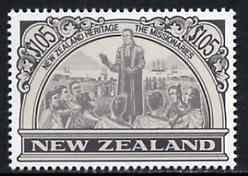 New Zealand 1988 Missionary $1.05 (from Heritage set 2nd issue) unmounted mint, SG 1509
