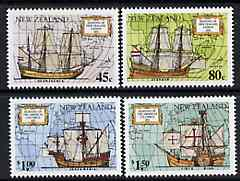 New Zealand 1992 Great Voyages of Discovery set of 4 unmounted mint, SG 1659-62