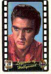 Telephone Card - Legends of Hollywood - Elvis Presley #5 - Limited Edition 20 units phone card (card No UT 0452)