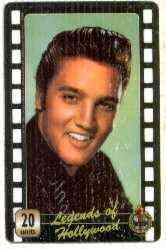 Telephone Card - Legends of Hollywood - Elvis Presley #6 - Limited Edition 20 units phone card (card No UT 0451)