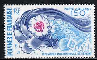 French Polynesia 1979 International Year of the Child 150f fine mint SG 300