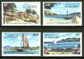 St Vincent - Grenadines 1977 Canouan Island #1 set of 4 unmounted mint, SG 106-109*