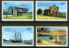 St Vincent - Grenadines 1976 Mayreau Island set of 4 unmounted mint, SG 89-92