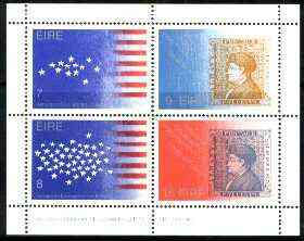 Ireland 1976 Bicentenary of US Revolution m/sheet unmounted mint, SG MS 395