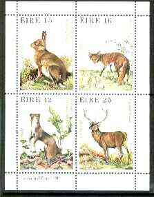 Ireland 1980 Wildlife m/sheet unmounted mint, SG MS 465