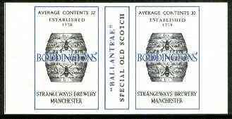 Match Box Labels - Boddington