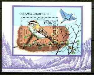 Togo 1999 Birds perf m/sheet fine cto used