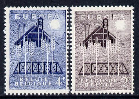 Belgium 1957 Europa set of 2 unmounted mint, SG 1617-18