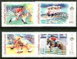 Thailand 1998 13th Asian Games set of 4  SG 2073-76 unmounted mint*