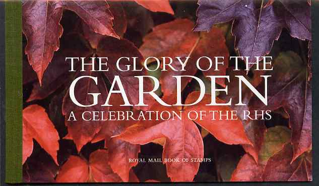 Booklet - Great Britain 2004 The Glory of the Garden \A37.23 Prestige booklet complete and very fine, SG DX33