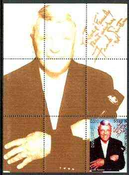 Laos 1999 Great People of the 20th Century (Frank Sinatra) perf souvenir sheet unmounted mint
