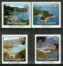 New Zealand 1979 Small Harbours set of 4 fine unmounted mint SG 1192-95