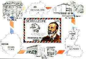 Sierra Leone 1984 UPU m/sheet unmounted mint SG MS 798