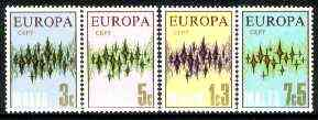 Malta 1972 Europa set of 4 unmounted mint SG 478-81