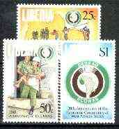 Liberia 1996 ECOWAS (Economic Community of West African States) set of 3 unmounted mint, Sc 1191-93*