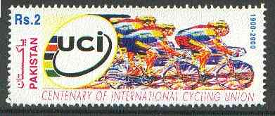Pakistan 2000 International Cycling Union unmounted mint*