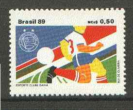 Brazil 1989 Football Clubs 50c unmounted mint, SG 2398*