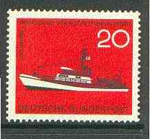 Germany - West 1965 Sea Rescue Service Centenary unmounted mint, SG 1399*