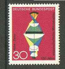 Germany - West 1968 Scientific Microscope from Anniversaries set unmounted mint, SG 1453*