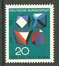 Germany - West 1968 Ore Crystals from Anniversaries set unmounted mint, SG 1452*