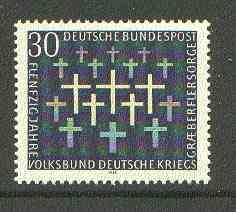 Germany - West 1969 War Graves Commission unmounted mint SG 1488*
