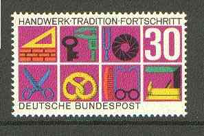Germany - West 1968 German Crafts and Trades unmounted mint SG 1458*