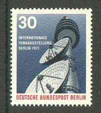 Germany - West Berlin 1971 International Broadcasting Exhibition unmounted mint SG B392