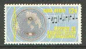 Cuba 1962 International Radio Service 12c unmounted mint SG 1016*