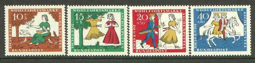 Germany - West 1965 Humanitarian Relief Funds (Cinderella) set of 4 unmounted mint SG 1406-09*
